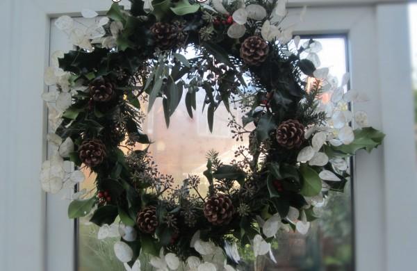 seasons greeting wreath